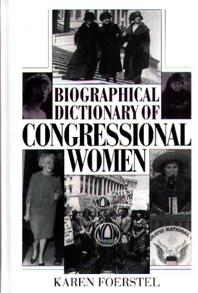 Biographical Dictionary of Congressional Women cover image