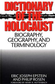 Dictionary of the Holocaust cover image
