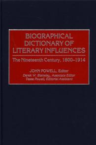 Biographical Dictionary of Literary Influences cover image