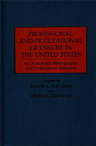 Professional and Occupational Licensure in the United States cover image