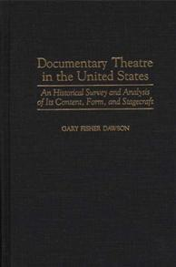 Documentary Theatre in the United States cover image