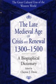 The Late Medieval Age of Crisis and Renewal, 1300-1500 cover image