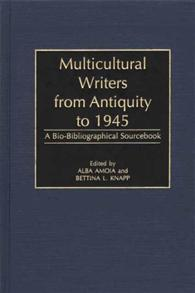 Multicultural Writers from Antiquity to 1945 cover image