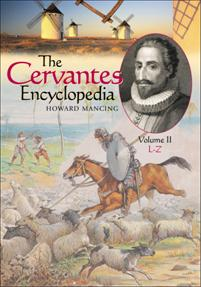 The Cervantes Encyclopedia cover image
