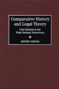 Comparative History and Legal Theory cover image