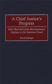 A Chief Justice's Progress cover image
