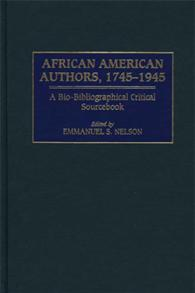 African American Authors, 1745-1945 cover image
