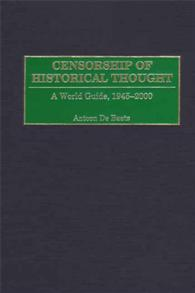 Censorship of Historical Thought cover image
