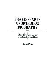 an analysis of the controversy about who wrote the plays attributed to william shakespeare Cliffsnotes on eliot's silas  hundred years after william shakespeare's  evidence that william shakespeare of stratford wrote the plays attributed to.