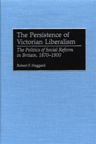 The Persistence of Victorian Liberalism cover image