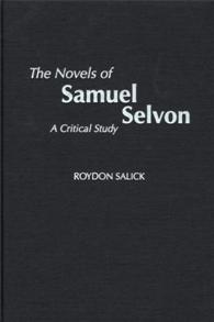The Novels of Samuel Selvon cover image