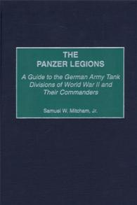 The Panzer Legions cover image