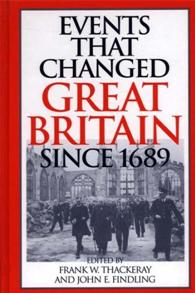 Events That Changed Great Britain Since 1689 cover image