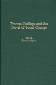 Frances Trollope and the Novel of Social Change cover image