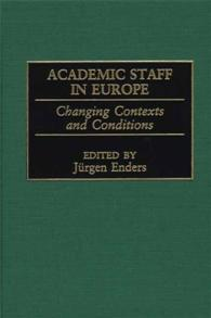 Academic Staff in Europe cover image