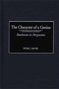 The Character of a Genius cover image