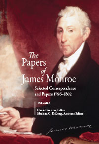 The Papers of James Monroe, Volume 4 cover image