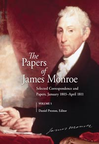 The Papers of James Monroe, Volume 5 cover image