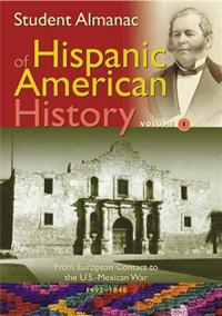 Student Almanac of Hispanic American History cover image