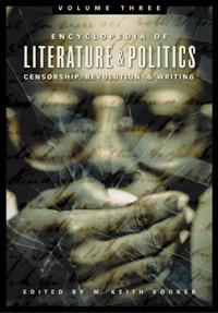 Encyclopedia of Literature and Politics cover image