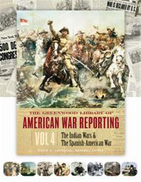 The Greenwood Library of American War Reporting cover image
