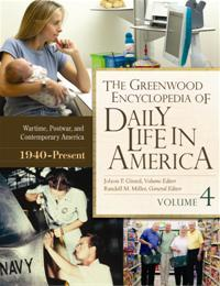 The Greenwood Encyclopedia of Daily Life in America cover image