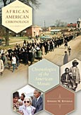 African American Chronology cover image
