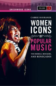 Women Icons of Popular Music cover image