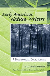 Early American Nature Writers cover image