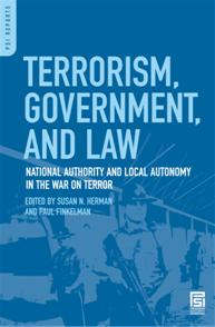 Terrorism, Government, and Law cover image