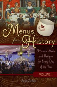 Menus from History cover image