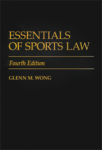 Essentials of Sports Law, 4th Edition cover image