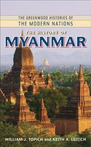 The History of Myanmar cover image
