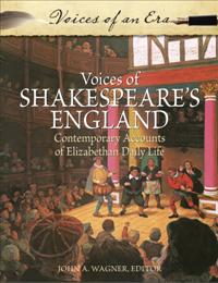 Voices of Shakespeare's England cover image