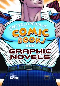 Cover image for Encyclopedia of Comic Books and Graphic Novels