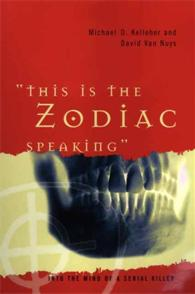 This Is the Zodiac Speaking cover image