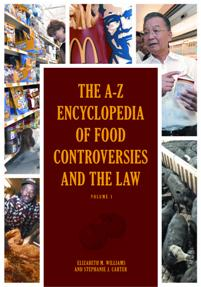 The A-Z Encyclopedia of Food Controversies and the Law cover image