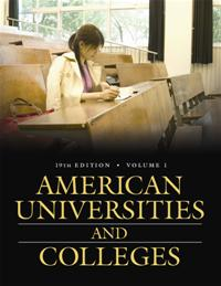 American Universities and Colleges, 19th Edition cover image