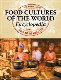 Cover image for Food Cultures of the World Encyclopedia