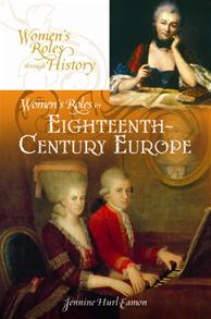 Women's Roles in Eighteenth-Century Europe cover image