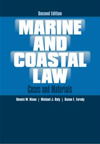 Marine and Coastal Law cover image