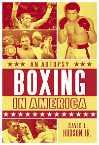 Boxing in America cover image