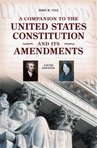A Companion to the United States Constitution and Its Amendments, 5th Edition cover image