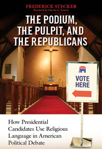 Podium, the Pulpit, and the Republicans, The cover image