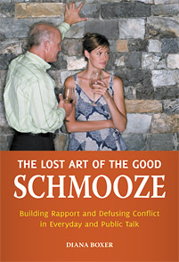 The Lost Art of the Good Schmooze cover image
