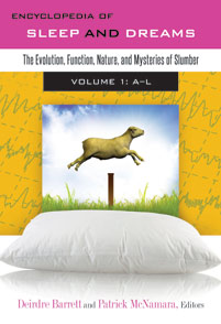 Cover image for Encyclopedia of Sleep and Dreams