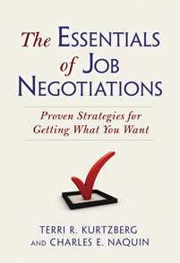 The Essentials of Job Negotiations cover image