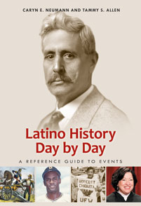 Latino History Day by Day cover image