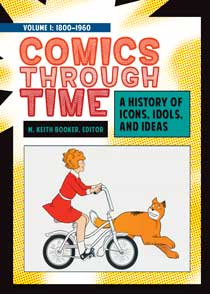 Cover image for Comics through Time