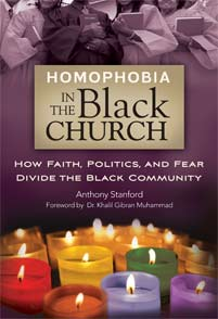 Cover image for Homophobia in the Black Church